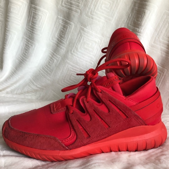 adidas Shoes | Mens Red Tubular Nova